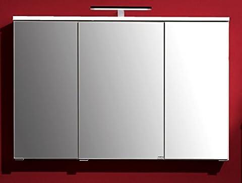 Held Möbel 006.1.0001 Mailand Spiegelschrank 100 x 66 x 20