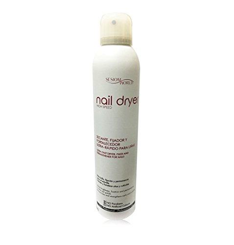 Secante uñas spray NAIL DRYER sin parabenos 300ml