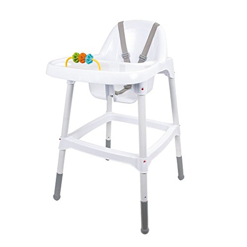 Children's Kids Baby High Chair With Tray & Toy Feeding Safety Belt Food 31Az6R2sqQL