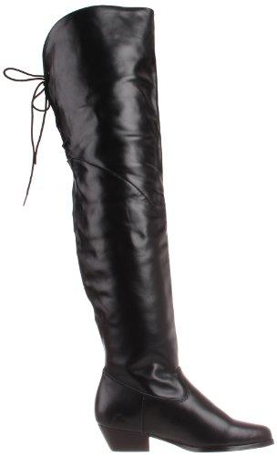 Pleaser RODEO-8822 Damen Overknee Stiefel Blk Leather