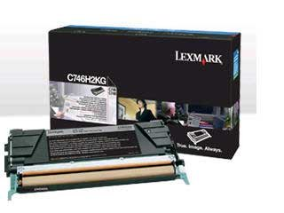Preisvergleich Produktbild Lexmark C746H2KG Hohe Ergiebigkeit – Schwarz – Original – Tonerpatrone LCCP,  LRP – für Lexmark cs748de,  C746dn,  746dtn,  746 N,  748de,  748dte,  748e