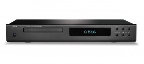 NAD C516 BEE CD-Player (Standgerät), Farbe: graphite
