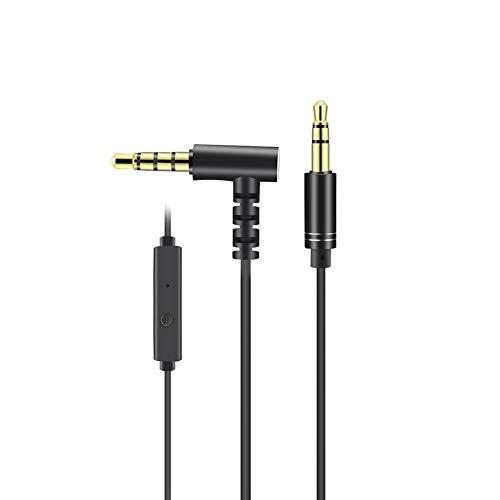TOOGOO A8 Nouveau Style Cable Audio auxiliaire 3,5 mm Male a Male Voiture (Noir)