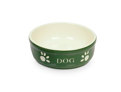 nobby-mangeoire-en-terre-cuite-pour-chien-motif-dog-vert-diametre-135-cm