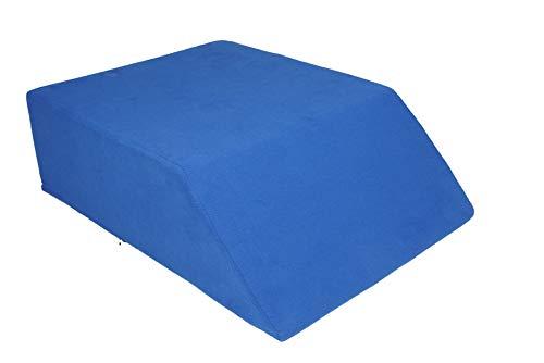 Sanolind® Orthopädisches Beinhochlagerungskissen, Venenkissen , Beinruhekissen bei muskulär bedingten Wadenschmerzen, Größe 70 x 50 x 20 cm - Knöchel-verletzung Behandlung