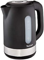 Tefal 1.7 Litre 2400W Plastic Kettle, K0330827, Black, 1 Year Brand Warranty