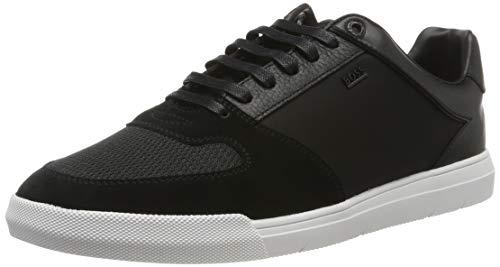 BOSS Herren Cosmo_Tenn_mx Sneaker, Schwarz (Black 1), 39 EU