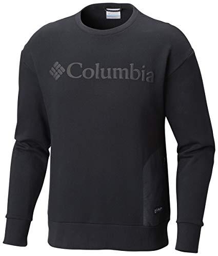 Columbia Herren Pullover Bugasweat schwarz L (Baumwolle Columbia Sweatshirt)