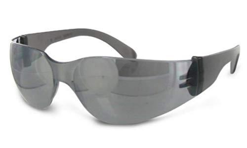 NESTOR Mirage Verspiegelt Grau Schwarz Sonnenbrille für Herren Damen UV400 100% UV & 85% Anti-Blaulicht stoßfest Kratzfest Dunkelgrau Spiegel Mode Sportbrille