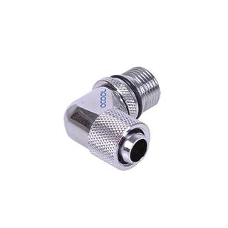Alphacool 1046/1048 Eheim Einlassadapter 90° auf 13/10mm - Chrome
