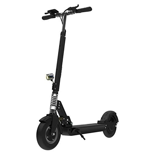 """SmartGyro Xtreme Pro Black - Scooter Eléctrico 8"""" plegable y con Batería de litio de 10000 mAh 36V, color Negro"""
