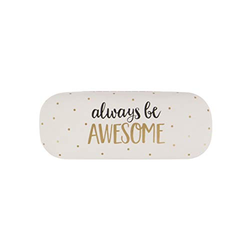Brillen Etui Vintage always be AWESOME 16x6cm