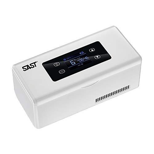BAIGE Portable Insulin-Kühler,Medizin Kühl-Box,Kühltasche Insulin Tasche,Kühlschrank Tragbare Mini Insulin-Kühler, USB Wiederaufladbar (1 Kühlakkus)