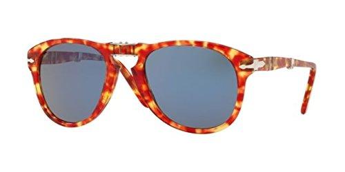 Ray-Ban Herren 0PO0714 Sonnenbrille, Rot (Tortoise Red), 54