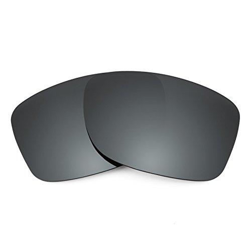 Revant Ersatzlinsen für Oakley Jupiter Factory Lite Polarisierung Schwarz Chrom MirrorShield®