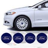 4 x 65mm Diameter Wheel Cap Sticker Self Adhesive Logo Emblem For FORD