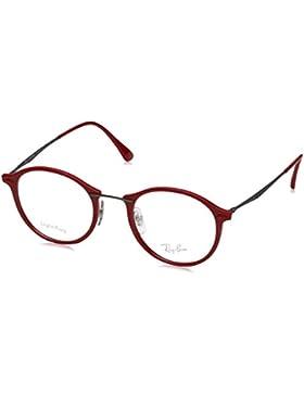 Ray-Ban 7073, Monturas de Gafas Unisex-Adulto, Negro, 47