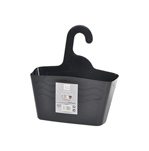 douceur-dinterieur-6asb229nr-panier-de-douche-a-suspendre-plastique-noir-24-x-95-x-2560-cm