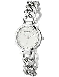 Louis Villiers Reloj Analogico para Unisex de Cuarzo con Correa en Acero Inoxidable AL2927-03