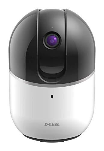 D-Link DCS-8515LH Caméra mydlink HD Wi-Fi Motorisée - HD 720p - Zoom Numérique x4 - LEDs infrarouge 5m - Microphone et Haut Parleur intégrés - Support mydlink APP