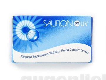 Sauflon 55 UV Monatslinsen weich, 6 Stück / BC 8.60 mm / DIA 14.20 mm / -8.5 Dioptrien
