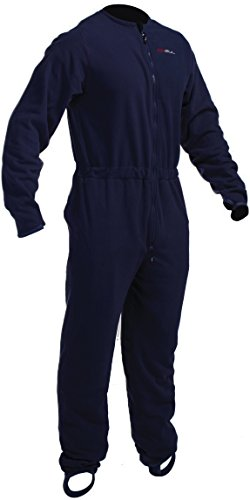 GUL Junior Radiation Drysuit Unteranzug Warm Fleece Technical Onesie Charcoal - Hervorragende Wärmeisolierung Atmungsaktiv