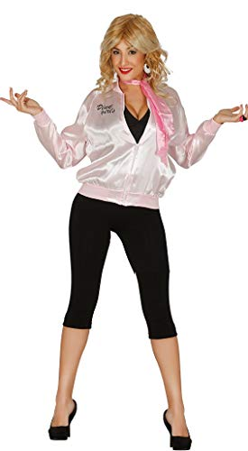 Ladies Pink Girls Hen Do Night Party TV Book Film Movie Fancy Dress Costume Outfit Jacket (UK ()