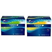 Tampax Pearl Unscented Tampons Combo Pack, 96 Super Absorbency and 96 count Regular Absorbency by Tampax preisvergleich bei billige-tabletten.eu