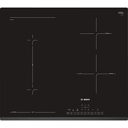 BOSCH - Table de cuisson à induction 60cm 4 feux 6900w noir - SERIE 6 - PVS631FC1E
