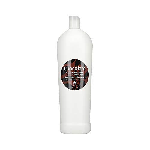 KALLOS Chocolate Full Repair Shampoo für trockenes und brüchiges Haar 1000 ml NEU