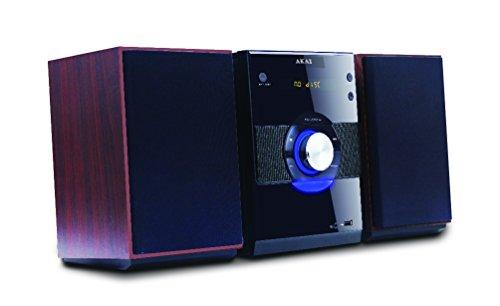 AKAI AMD315 Mikro-System (Radio, DVD-Spieler, USB) schwarz (Sd-micro-card-spieler)