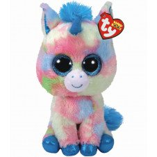 Beanie Boo Unicorn - Blitz - Multicoloured - 24cm 9""