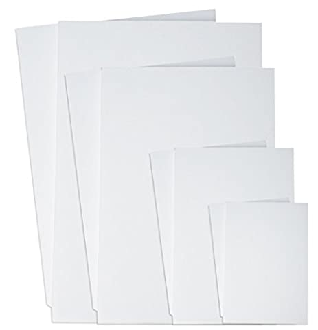 Product Nation A1 White Foam Board 5mm 10 Sheets - Photo Mount Board - Wedding Signs (594 x 841mm)