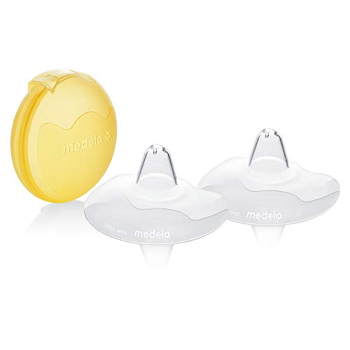 Medela Contact Nipple Shields with Case (Medium, 20mm nipple shield)