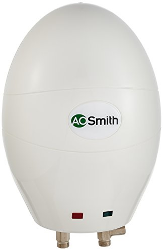 AO Smith EWS-3 3-Litre 3000-Watt Instant Water Heater (White)