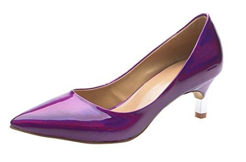 TDA , Sandales Compensées femme Violet