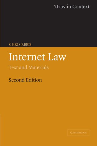 Internet Law: Text and Materials (Law in Context)