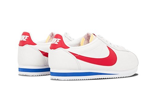Nike Classic Cortez Premium Qs, Chaussures de Running Entrainement Homme Multicolore - Blanco / Rojo / Azul (White/Varsity Red-Vrsty Royal)