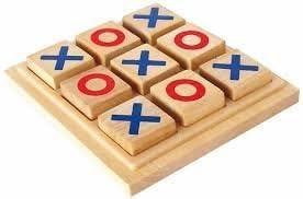 wooden TIC TAC TOE (Medium)