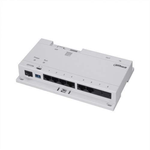 Dahua VTNS1060A Video Intercom IP Switch 6 Ch. DH Poe Switch DC24V Max, VTNS1060A Ip-intercom