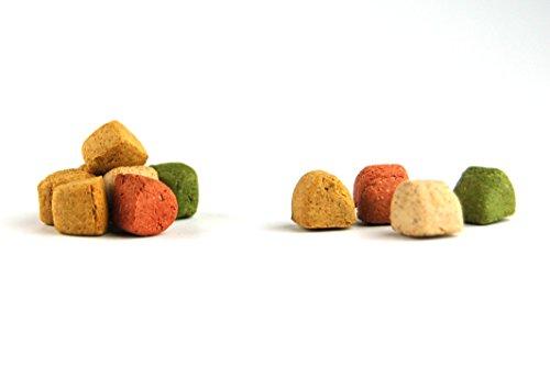 DIBO Gourmet-Happen, 10kg-Karton, Backwaren als gesunde, natürliche Ernährung für Hunde von DIBO, Hundefutter, BARF, B.A.R.F., Leckerli, Hundekekse - 3