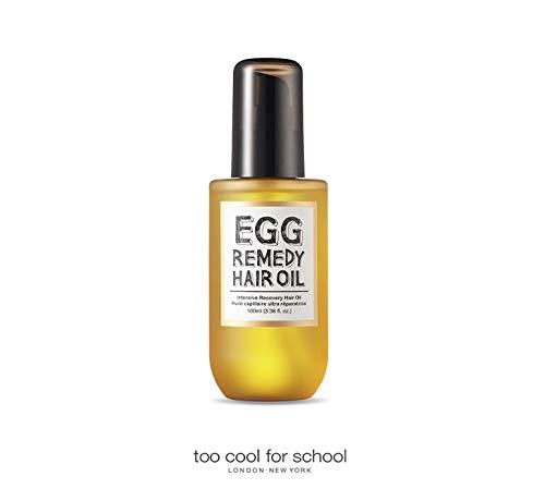 Trop Cool pour l'école NEUF Oeuf Remedy Huile pour cheveux 100 ml