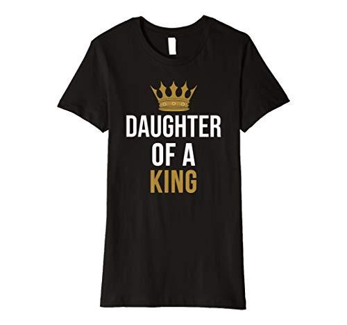 Vater Tochter TShirt Daughter Of A King Partnerlook Shirt