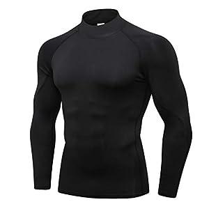 Plot Hoodie Herren Funktionsshirts Kurzarm Langarm Kompressionsshirt Laufshirt Sportshirt mit Rundhalsausschnitt Fitness Gr. S-XXL