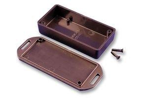 Hammond 1551 mflgy Gris en plastique ABS à embase Couvercle projet Boîte pouces (3,5 x 3,5 x 2 cm) mm (35 mm x 35 mm x 20 mm)