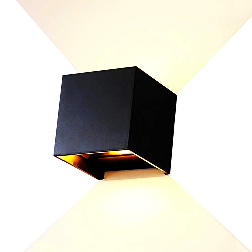 12W LEDWaterproof IP65 Wandleuchten Dimmer Aluminium Wall Lamp Innen Außen Badezimmer...