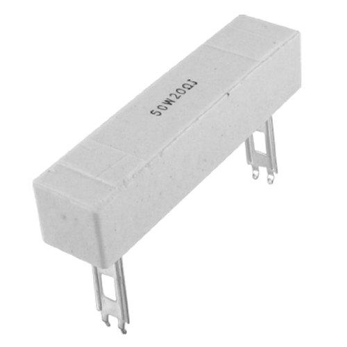 sourcingmap 50W Watt 20R 20 ohm 5% Keramik Zement Resistor Draht Widerstand Drahtwiderstand de -