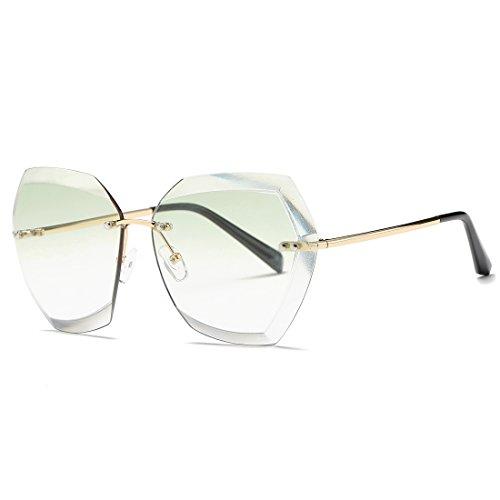kimorn Occhiali Da Sole Di Per Donna Oversized Occhiali Da Taglio Di Diamanti Rimovibile Classic Eyewear AE0534