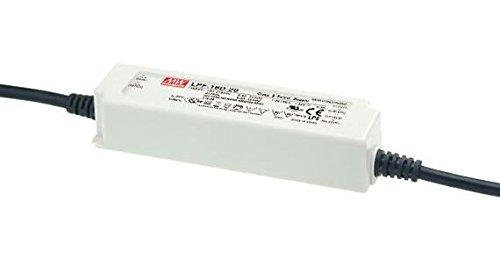 MEANWELL DRI.5683 Transformateur 24V 16W IP30 DIM 1-10V-LPF-16D-24, Plastique,et Autre materiaux, 16 W, Blanc, Hauteur x Largeur x Profondeur : 148 mm x 40 mm x 32 mm