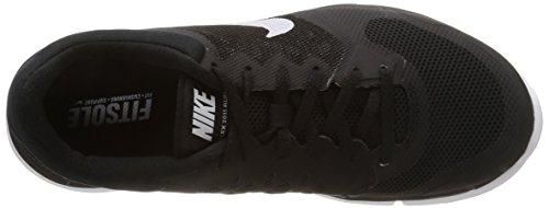 Nike Wmns Flex 2015 Rn, Scarpe sportive, Donna Black/White